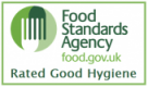 "Food Standards Agency Hygiene Rating: ""Good"""