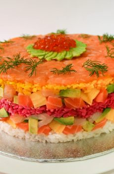 Classic Sashimi Fakey Cakey