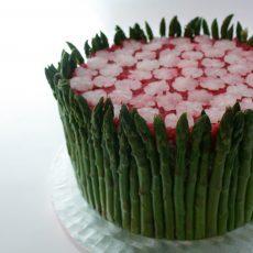 Asparagus Garden Fakey Cakey