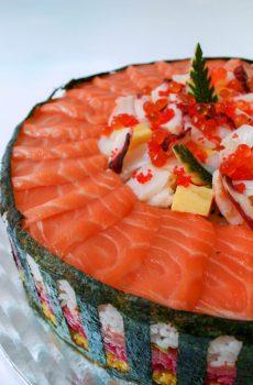 Sashimi range (RAW fish)