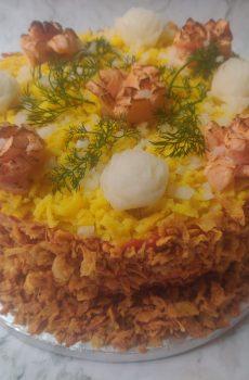 Seafood Kakiage Fakey Cakey