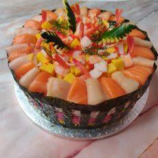 Seafood Sashimi Fakey Cakey