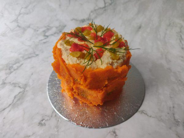 Vegan 'Sashimi' petite Fakey Cakey (vegan)