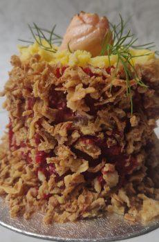 Seafood Kakiage Petite Fakey Cakey