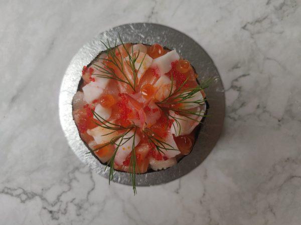 Seafood Sashimi Petite Fakey Cakey